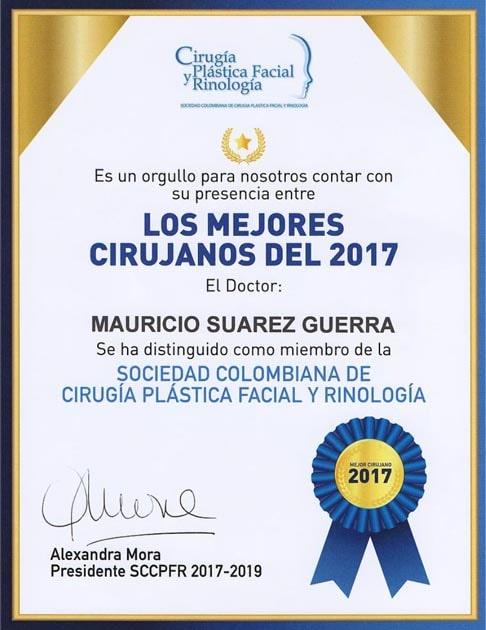 Mejor médico cirujano Rinoplastia Ultrasónica Doctor Mauricio Suárez