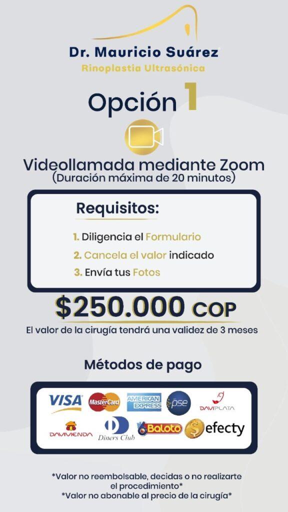 Rinoplastia ultrasónica colombia Dr Mauricio Suárez